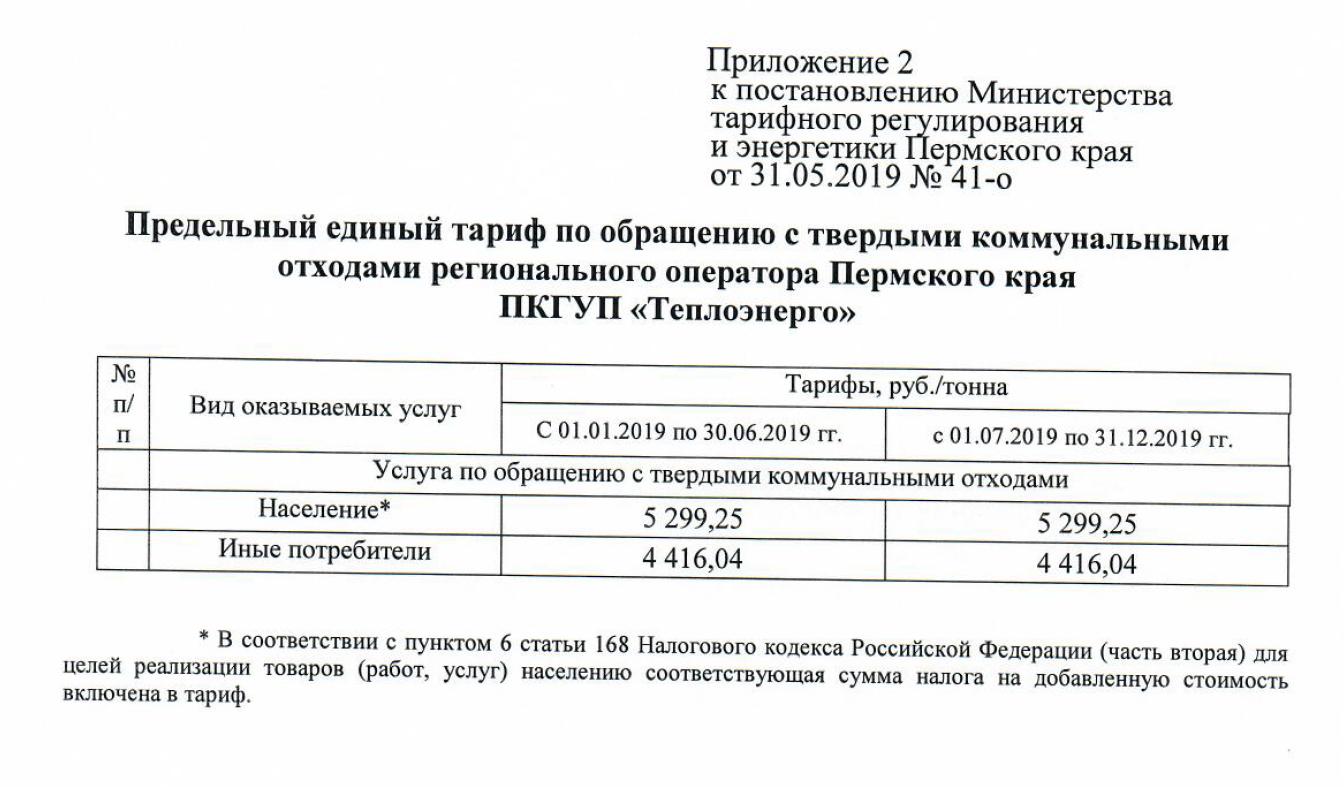 Региональный оператор ТКО Пермский край